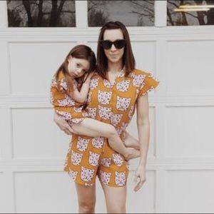 Hugo Loves Tiki Mommy Daughter Rompers!